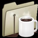 Alt, Coffee, Lightbrown icon