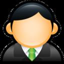 User Executive Green icon