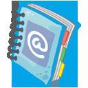 address, read, book, reading icon