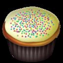 vanilla,cupcake icon