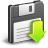 load, save, download icon