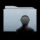 account, people, user, profile, graphite, human, folder icon