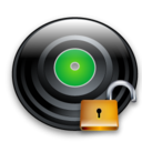 unlock, disc, save, disk icon
