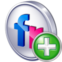 Add, Flickr icon