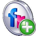 flickr, add icon