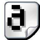 font, bitmap icon