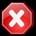 cancel, process, no, stop icon