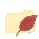 vanilla, folder, ak, leaf icon