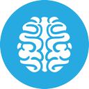 games, brain icon