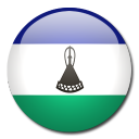 country, lesotho, flag icon