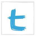 twitter,white,socialnetwork icon