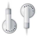 ipod, headphones icon