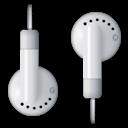ipod, headphones icon