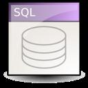 document, file, sql icon