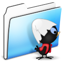 calimero,folder,smooth icon