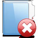 folder, delete icon