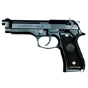 m, Pistol icon