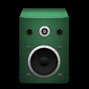 speaker green icon