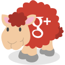 google plus, social network, gplus, sheep icon