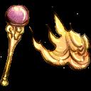 staff, fire icon