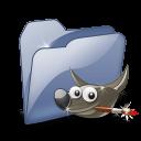 Folder Dossier Gimp SZ icon