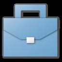 blue, case, career, job, briefcase, suitcase icon