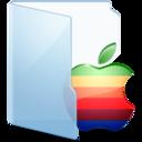 apple,blue icon
