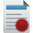 manager, license icon