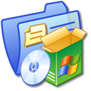 Folder Blue Software 2 icon