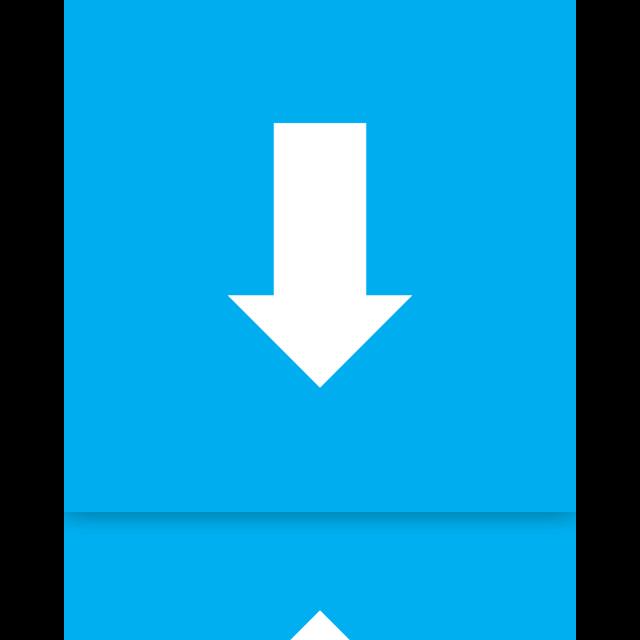 mirror, downloads icon