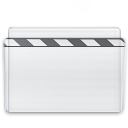 film, movie, video, folder icon
