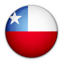 chile, of, flag icon