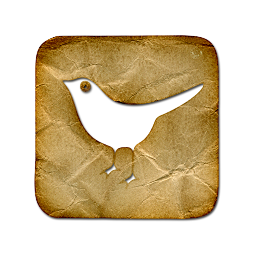 square, animal, bird, sn, social network, social, twitter icon
