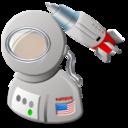 space, astronaut icon