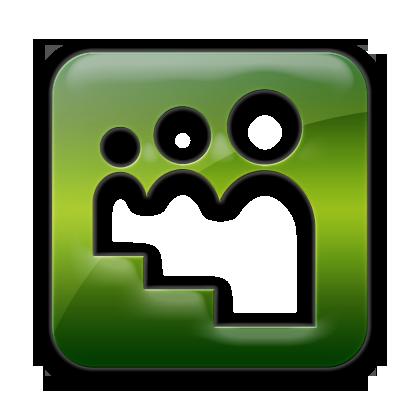 myspace, logo, square icon