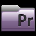 Adobe, Folder, Premiere icon