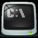 Shell run icon