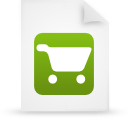 file, paper, document, green icon