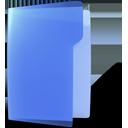 close, blue, folder, open icon