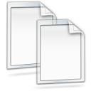 papers, copy, documents icon