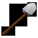 shovel, iron icon