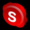 skype, classic icon