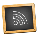 Black, Blackboard, Feed, icon