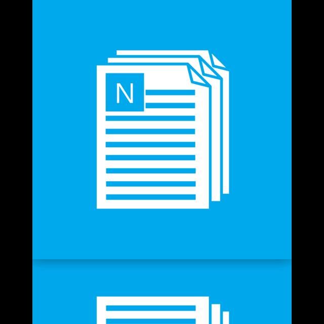 alt, notepad, mirror icon