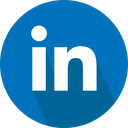social network, linkedin, logo icon