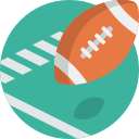 football, sport, american, ball icon