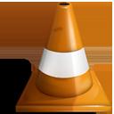 build, traffic, cone, vlc icon