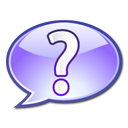 question mark, support, help, filetypes icon