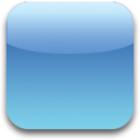 Blue Blank icon
