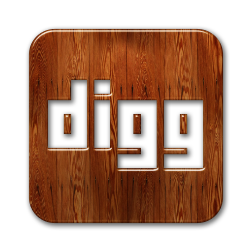 logo, square, digg icon